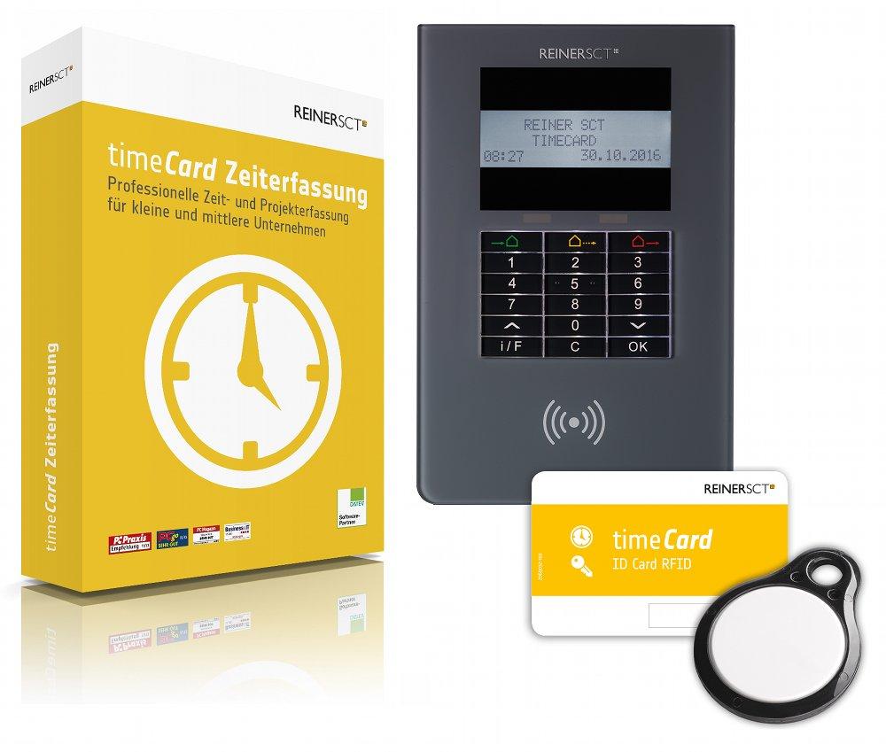 timeCard Zeiterfassung Zahner Net Netzwerktechnologie Zutrittskontrolle